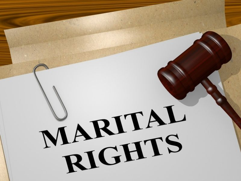 document with martial rights written on it